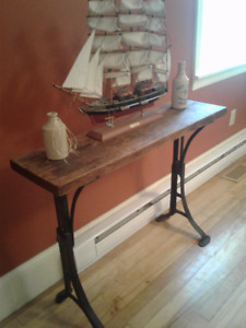 Vintage Industrial Chic Table