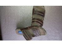 Mens size 8 leather sandals leather with padded insole. Designer bought in Debenhams
