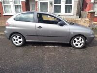 SEAT IBIZA 2005| SILVER| 3 DOOR HATCHBACK| 1.2 FULL SERVICE HISTORY| 86,598 MILEAGE| ERITH KENT