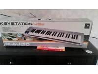 M-Audio Keystation 49 (midi keyboard)