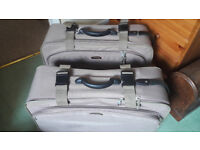 SALISBURY soft suitcases - 2 available - £8 each - £10 for 2 - collect PO88HH