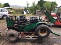 Ransomes t51d batwing mower breaking