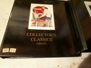 2 binders mint  condition Coke a cola cards and pogs