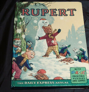 Rupert and the Dragon Fly, 1962, Collector Book for Children