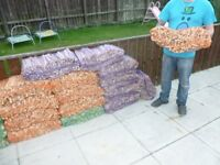 LARGE BAGS OF KINDLING FOR SALE FIRES /FIREWOOD/ LOGS/ WOODBURNERS/STICK