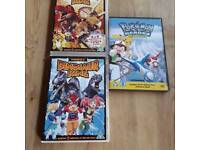 Pokemon and Dinosaur king films