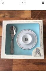 Me to you christening gift egg and spoon set NEW BOXED