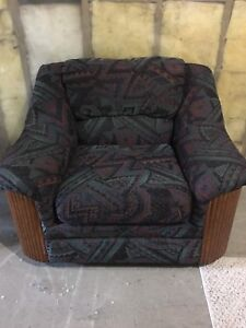 Chair and loveseat