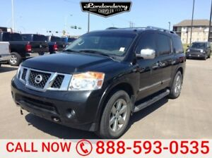 2013 Nissan Armada 4WD PLATINUM Accident Free,  Sunroof,  Remote