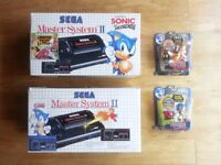 Sega Master System console bundle - Retro Games