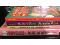 Set Of Four Jacqueline Wilson Books ( Includes Hardback Book )