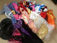 Large Bundle Of Girls dress up 5-6/7