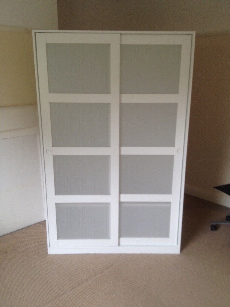 two ikea kvikne wardrobes need to go asap 25 each in east dulwich london gumtree. Black Bedroom Furniture Sets. Home Design Ideas