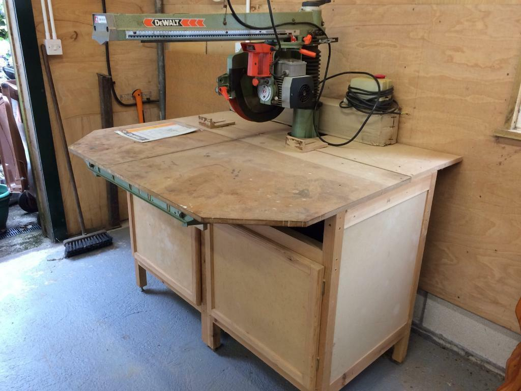 Dewalt dw8101 radial arm saw in ivybridge devon gumtree dewalt dw8101 radial arm saw greentooth Choice Image