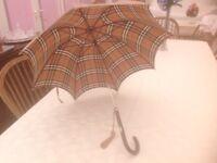 Vintage Burberry Umbrella excellent condition