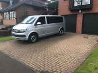 8 seater minibus with driver hire