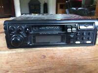 Kenwood radio cassette player for car.