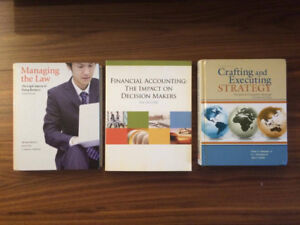 Ryerson Business textbooks - see description
