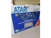 ATARI 520 ST WITH ORIGINAL ATARI GAMES