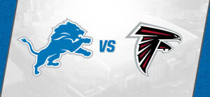 NFL Tickets- Detroit vs. Atlanta @Ford Field Sept. 24th