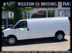 2012 Chevrolet Express *EXTENDED *RARE *GREAT SHAPE *WONT LAST L