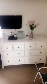 Ikea large wooden dresser /chest of draws