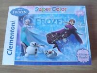 Frozen Glitter Jigsaw Puzzle 104 Pieces - New