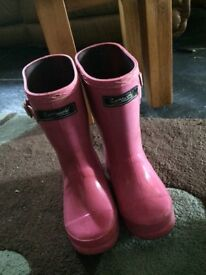 Cotsworld pink wellies