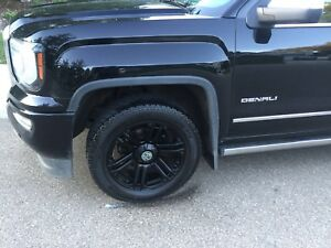 Mint -  Black Rims and rubber 275/55/20 from GM Denali Truck