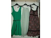 Bundle of Ladies Clothes inc dresses & accessories Size 8-10