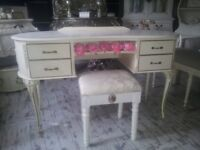 louis dressing table and seat