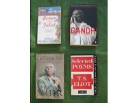 4 Various Books - All 4 for £3.00