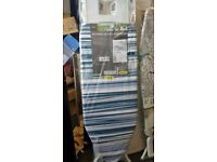 Brand new Striped Ironing Board With Plug
