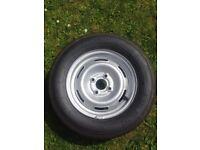 Caravan spare wheel - Maxmiler-X 155R13C tyre