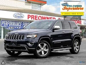 2016 Jeep Grand Cherokee Limited***leather/NAV/4x4***