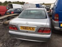 Mercedes e 220 cdi spare parts bumper bonnet mirror radiator ecu set abs pump
