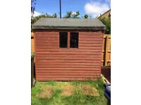 Garden Shed for sale 7ft x 6ft. Dismantled ready for collection
