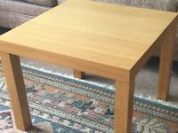 IKEA Square Coffee Table Height 18in/46cm Width/Depth 22in/56cm