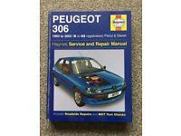 2 Free Haynes Manuals - Ford Fiesta 89-95, Peugeot 306 93-02