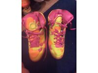 New Nike trainsers adidas neon size 11