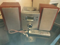 Goodmans Micro System & Remote Control, CD Player, DAB Radio + Aux in