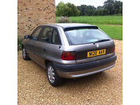 Cheap Vauxhall Astra 1600 1996 silver,MOT April 2018 good tyres, new exhaust