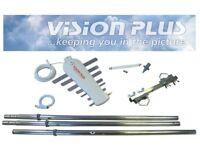 Vision Plus Image 620 TV aeriel And Mast Assembly Kit For Caravan Motorhome Boat