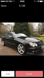 2005 Mercedes CLK 320 Cdi Sport, Full leather , FSH, Automatic, Diesel