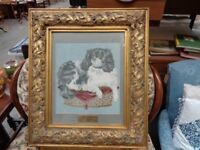 King Charles Spaniel Tapestry Picture