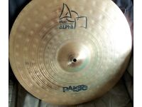 "Paiste Alpha 20"" Ride Cymbal"