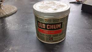 Great old tobacco tin.