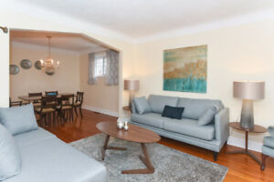 3 BR House with Internet, Parking, Cable/HBO, Heat, AC, Hydro...