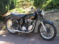 AJS 1953 350cc model 16MS Classic Motorcycle