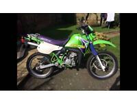 WANTED Kawasaki Kmx 200 original exhaust